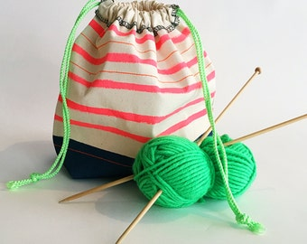 Project knitting Bag