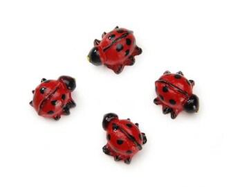 Miniature Ladybugs - miniature enchanted fairy garden