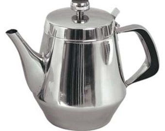 Gooseneck Tea Pot w/ Vented Hinged Lid
