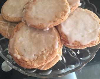 Lemon lime cookies