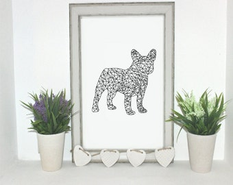French bulldog Instant download.