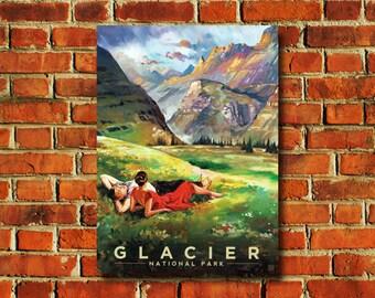 Glacier National Park Poster - #0767
