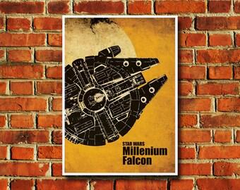 """Star Wars Movie Poster - 11"""" x 17"""" - #0156"""