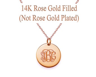 Custom monogram Necklace, personalized necklace, initial necklace, monogram necklace gold, monogram necklace silver, custom name necklace