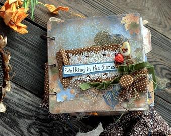 Fall Memories Mini Album, Autumn Inspiration Keepsake