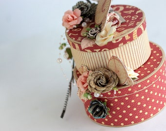 Vintage Jewelry Boxes, Lady's Diary collection - on SALE