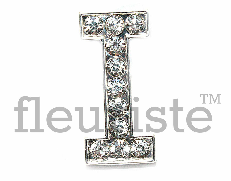 Letter i rhinestone bulk metal rhinestone rhinestone for Bulk letters