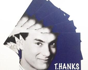 Tom Hanks T.HANKS Thank You Postcards