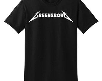Greensboro Metal Tee