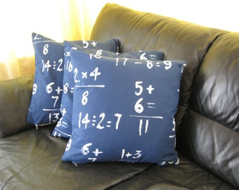 Number cushion cover
