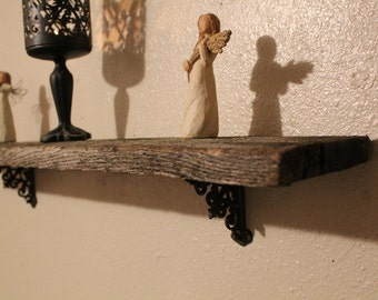 Antique Barn Wood Shelf