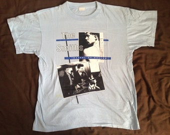 Vintage 1984 THE SMITHS Hatful of Hollow Morrissey T-Shirt