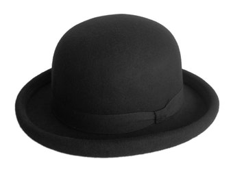 Bowler Hat Craft felt-model-black