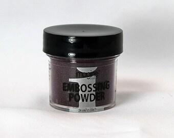 Vintage Plum Embossing Powder - Embossing Powder - Purple Embossing Powder - Emboss Powder - Purple Emboss Powder - Vintage Plum