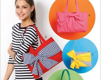 McCalls 6977, Bag Sewing Pattern, Handbag Pattern,Tote Pattern, Bag Pattern,  Paper Pattern