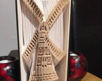 windmill cut and fold book fold bookfolding design