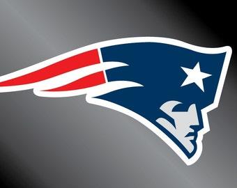 New England Patriots Vinyl Decal Sticker