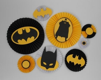Batman Rosettes