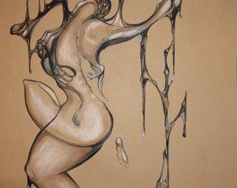 DIGITAL PRINT of Artwork by Celyn