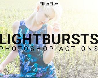 Lightburst Photoshop Actions
