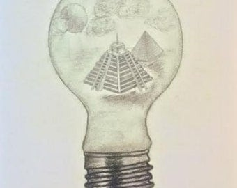Pyramids in a Lightbulb