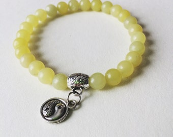 Lemon Jade 6mm Natural Stone