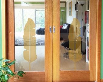 Glass Door Stickers Etsy - Vinyl stickers for glass doors