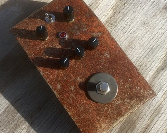Rust Bucket Fuzz Pedal #1 of 5 Rare Limited Edition