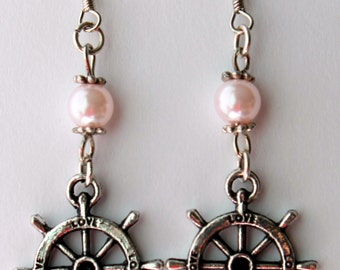 Steering Wheel Earrings