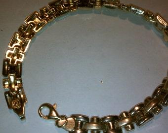 10K Solid Yellow Gold Bracelet