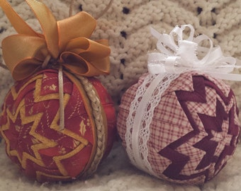 Quilted Ornaments (Item OR046)