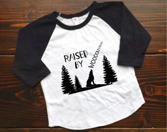 Raised by Wolves infant, baby, toddler, kids Raglan