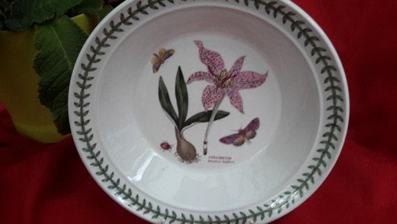 Vintage Portmerion Botanic Garden Plate Meadow Safron