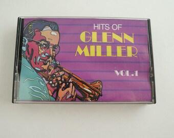 Hits Of Glenn Miller Vol 1 Cassette Tape Vintage Music