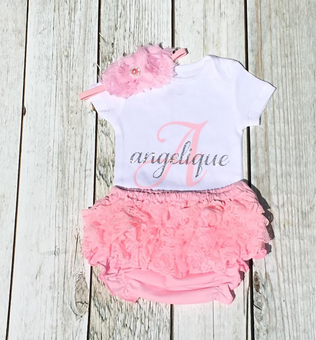 Baby Girl Clothes Personalized Baby Girl by