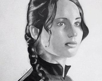Katniss Everdeen Drawing