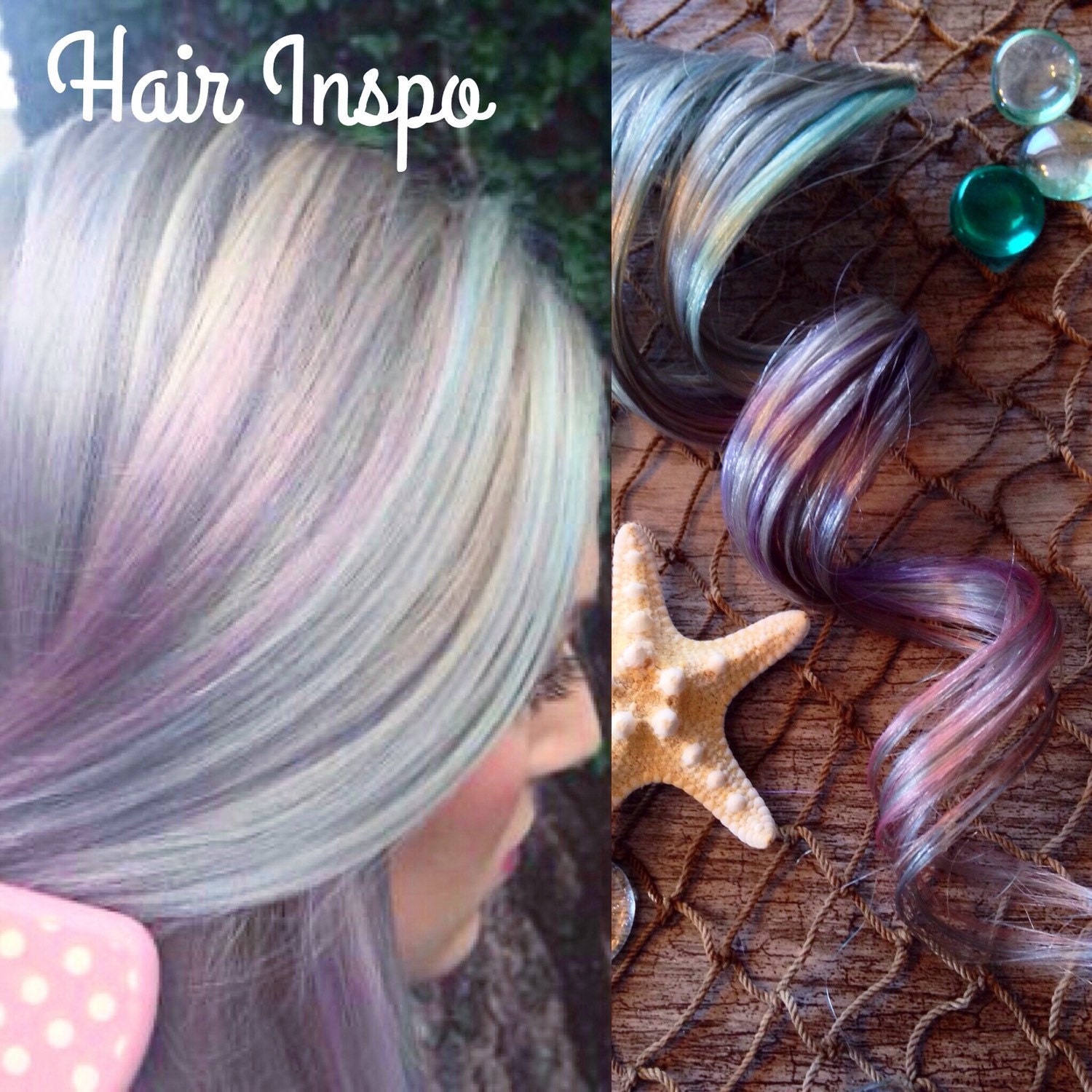 Silver ombre hair extensions lavender hair pastel hair pink zoom pmusecretfo Images