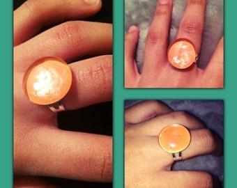 Bright Orange Ring