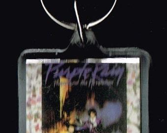 Prince Purple Rain Vintage Keychain 1984