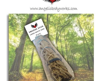 Large Native Californian White Sage Smudge Stick
