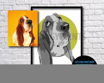 Personalized Pet Portrait , Pet Portrait illustration,Custom Pet Portrait, Dog Portrait