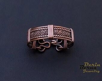 Men copper cuff bracelet,Copper Men Bracelete,Men  accessories Bracelet,Men viking cuff Bracelet,Men Cuff Bracelet,Men Jewelry,Free Shipping