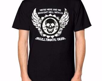 Hell Unleashed Skull Shirt