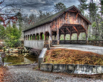 Covered Bridge/ Flat Rock, North Carolina