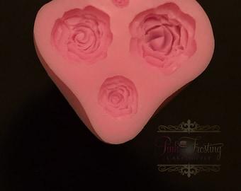 Rose Silicone Mold