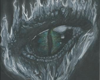 Eye of a Dragon Print