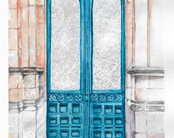 Illustration (The door)