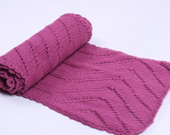 Scarf for women Women shawl Winter shawl Pink wool scarf Winter scarf Pink scarf Knit scarf Hand knit scarf Oversized scarf Holiday gift