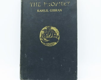 The Prophet by Kahlil Gibran 38th Edition [1940]