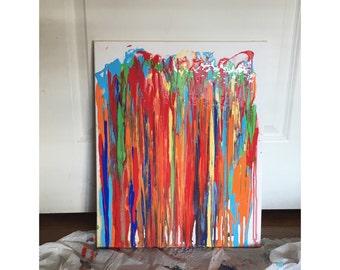 Trickle Effect/Multicolored